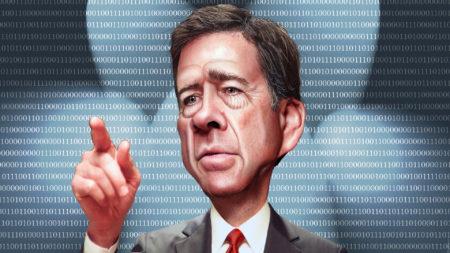 ראש ה-FBI, ג'יימס קומי. תמונה: DonkeyHotey (cc-by)