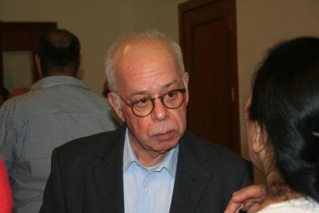 עמוס רגב, העורך הראשי של ישראל היום. תמונה: העין השביעית