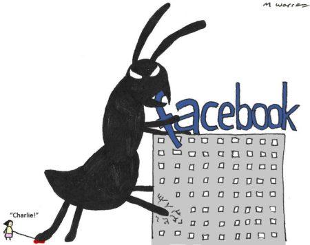 נמלת ענק תוקפת את פייסבוק. תמונה:  Max Warren (cc-by-nd)