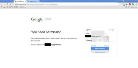 """גוגל דרייב מזוייף למטרת דיוג, שנשלח לד""""ר תמר עילם גינדין 📷 צילומסך"""