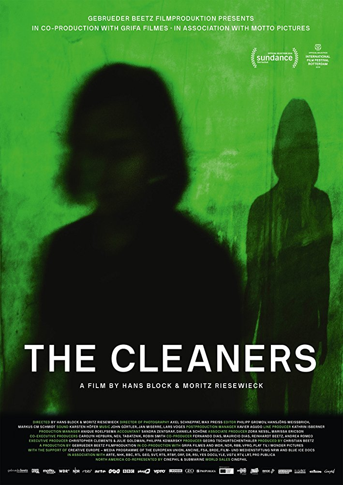כרזת הסרט The Cleaners