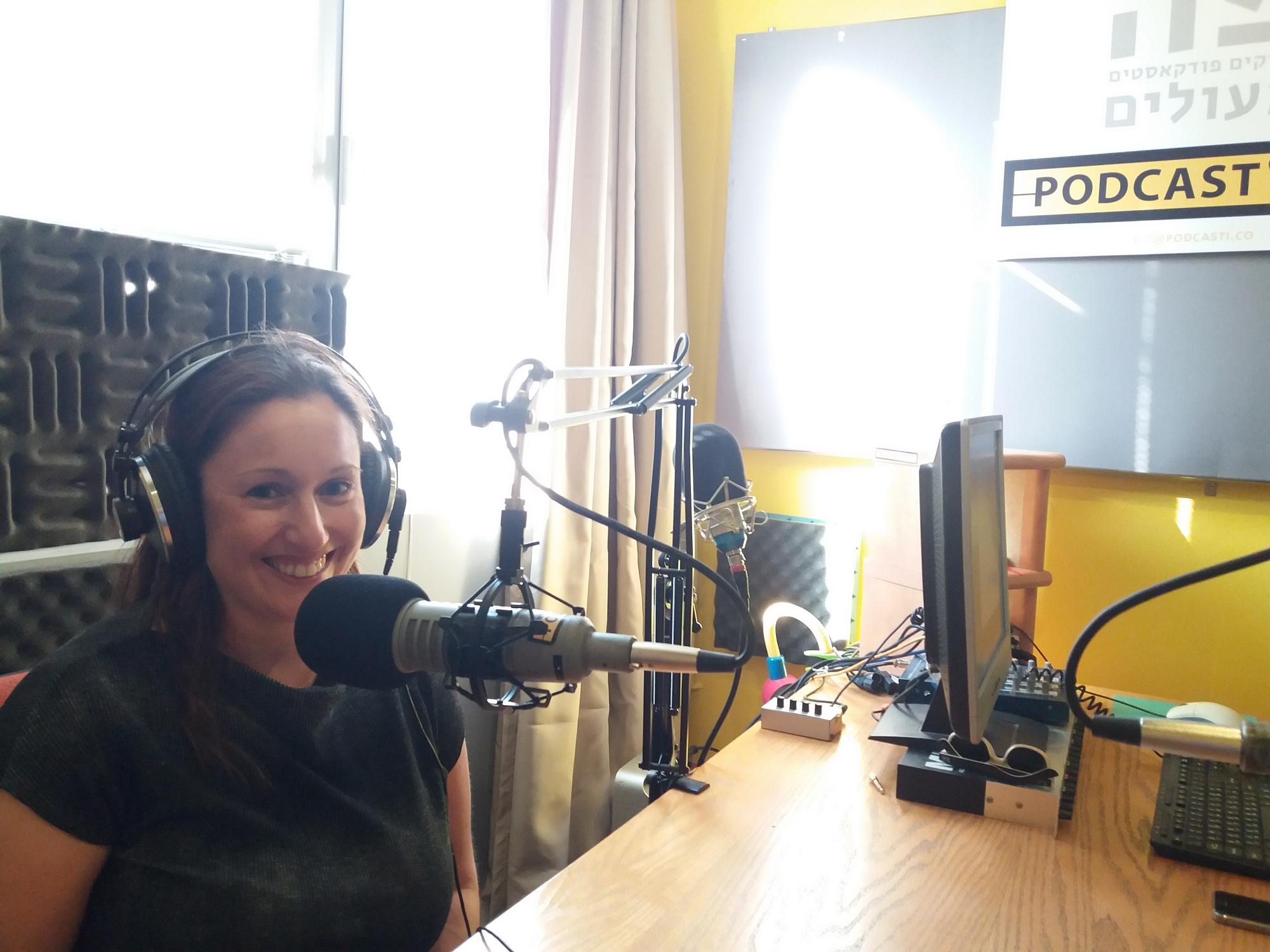 טל קלנר מפייסבוק ישראל באולפן Podcasti.co 📸 עידו קינן