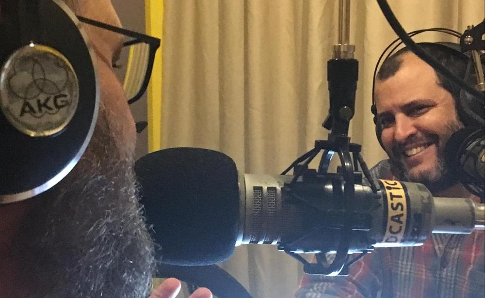 נעם רותם ועידו קינן, סייברסייבר 📸 עומר סנש, Podcasti.co