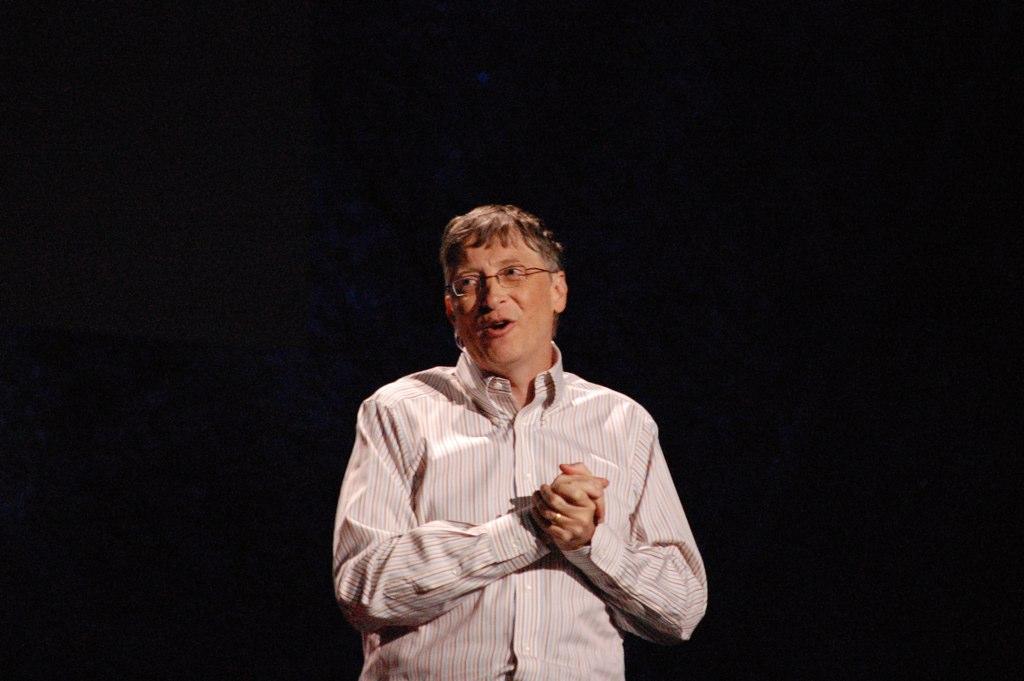ביל גייטס מרצה בטד 2009 📸 רד מקסוול (cc-by-nc)