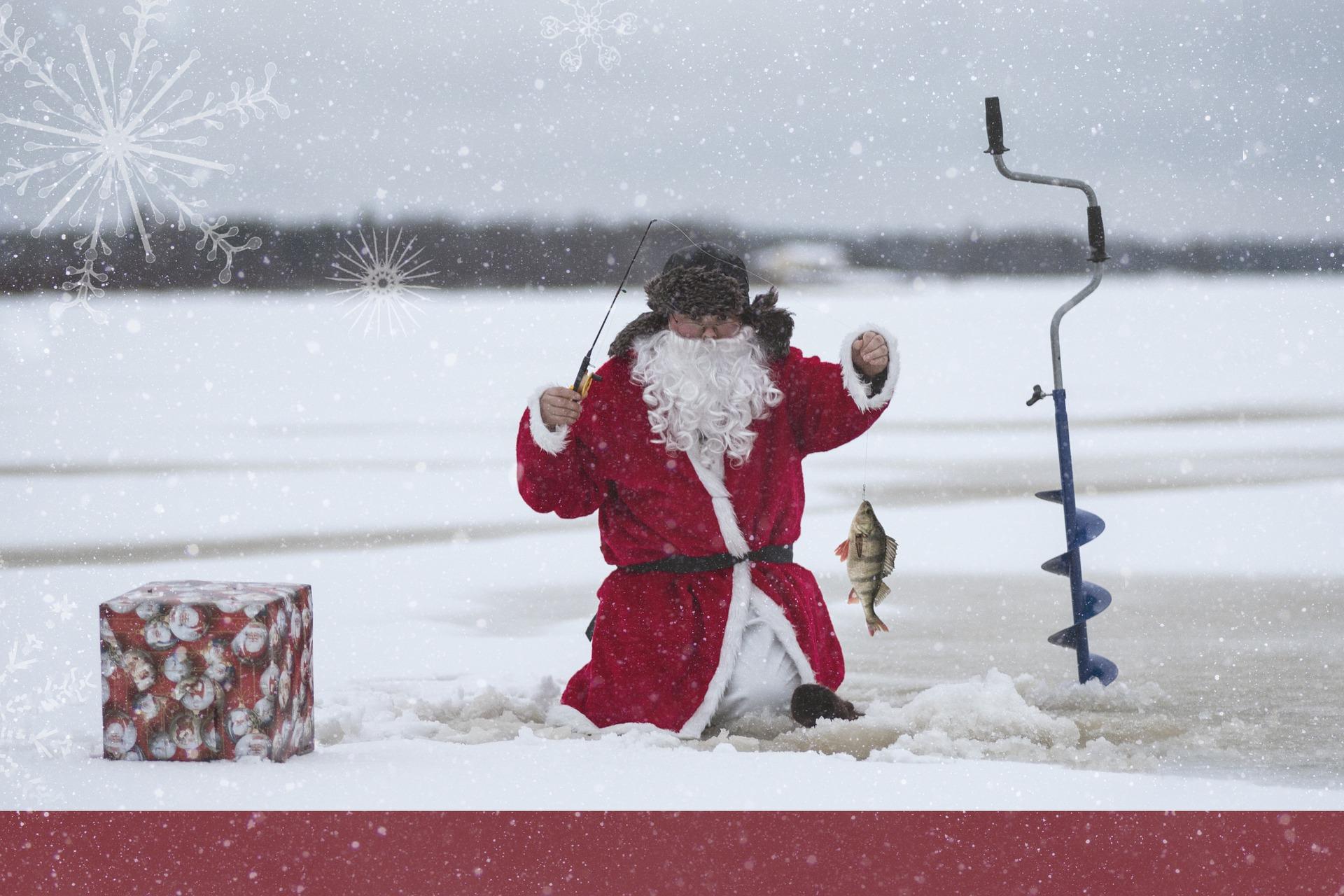 סנטה קלאוס דג בקרח 🖼️ mikkooja1977
